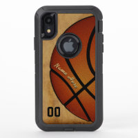 OtterBox Cool Personalized Basketball Phone Cases