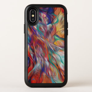 af661ec3a1 Otterbox Defender - multi-colored psychedelic OtterBox Symmetry iPhone X  Case