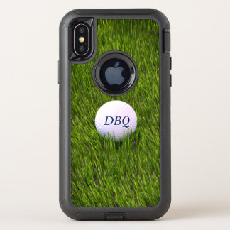 Otterbox Defender Series Golf Ball In the Rough OtterBox Defender iPhone X Case