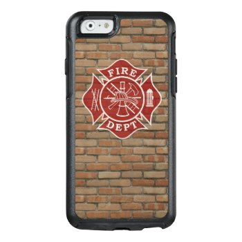 Otterbox Firefighter Iphone 6/6s Case by TheFireStation at Zazzle