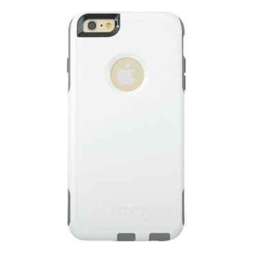 Beach Themed OtterBox iPhone 6/6s Plus Commuter Case, White