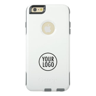 OtterBox iPhone 6 Plus White Commuter Case Logoed
