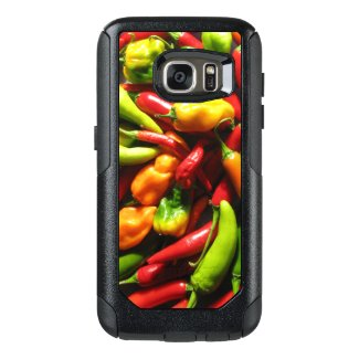OtterBox Samsung Galaxy S7 with chili peppers