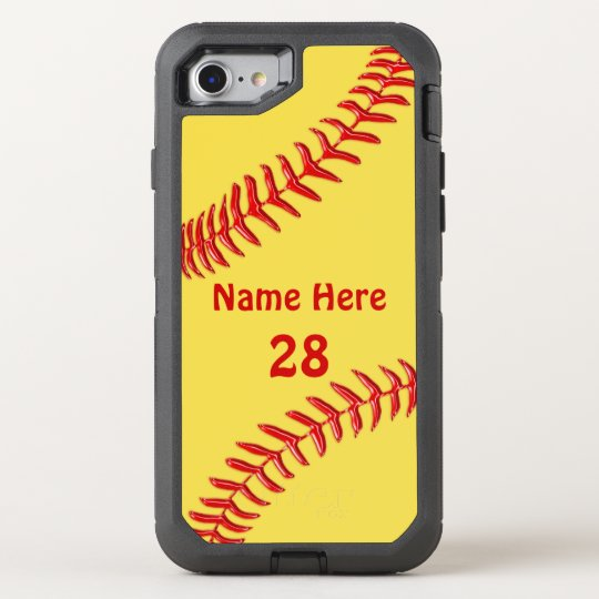 new product 998f8 1050a Otterbox Softball Phone Cases with Your Text