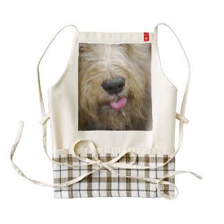 otterhound-2.jpg zazzle HEART apron
