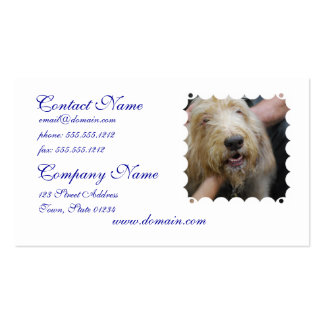 Otterhound Double-Sided Standard Business Cards (Pack Of 100)