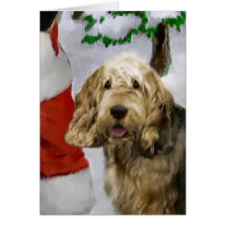 Otterhound Christmas Gifts Cards