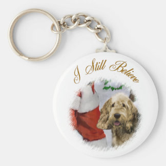Otterhound Christmas Gifts Keychain