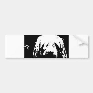 otterhound custom bumper sticker