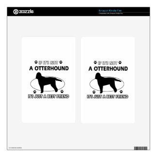 Otterhound dog breed designs kindle fire skins