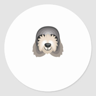 Otterhound Dog Breed - My Dog Oasis Classic Round Sticker