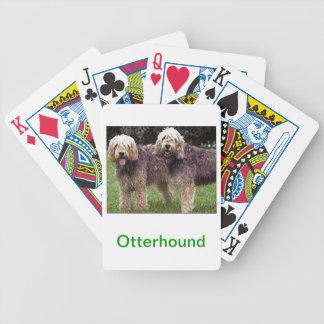 Otterhound Dog Playing Cards