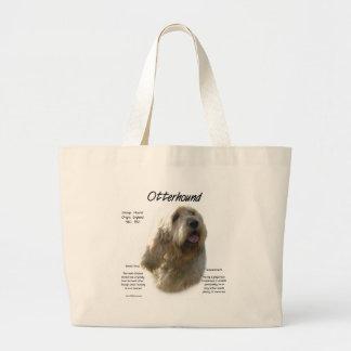 Otterhound History Design Jumbo Tote Bag