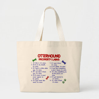 OTTERHOUND Property Laws 2 Tote Bags