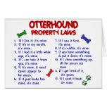 OTTERHOUND Property Laws 2 Card