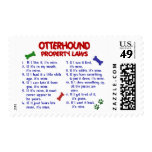 OTTERHOUND Property Laws 2 Stamps