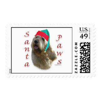 Otterhound Santa Paws Postage