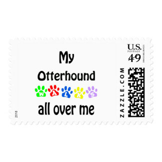 Otterhound Walks Design Postage