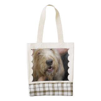 Otterhound Zazzle HEART Tote Bag