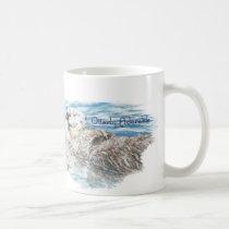 Otterly Adorable Humorous Cute  Otter Animal Coffee Mug
