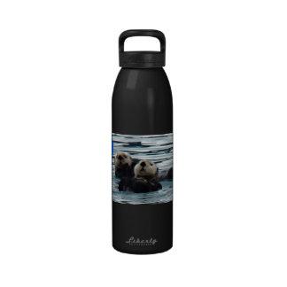 Otterly adorable sea otter liberty water bottle