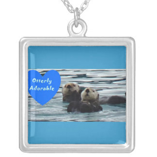 otterly Adorable Sea otter necklace