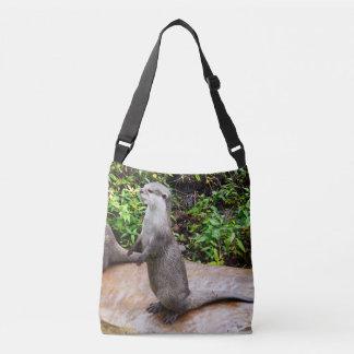 Otterly_Amazing_Full_Print_Cross_Shoilder_Bag Tote Bag