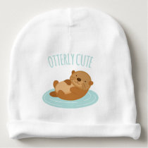 Otterly Cute Baby Beanie