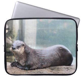 Otterly cute laptop sleeve