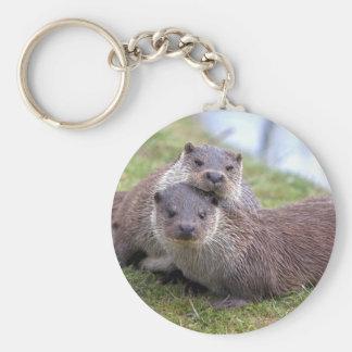 Otterly in Love Keyring Keychain