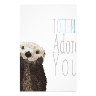 Otterly le adoro papelería personalizada