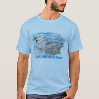 Otterly Retired Retirement Humorous Cute Otter T-Shirt