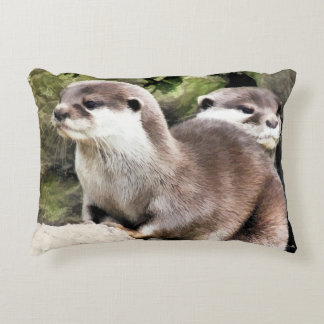 OTTERS ACCENT PILLOW