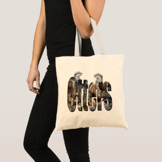 Otters And Otters Picture Logo, Tote Bag