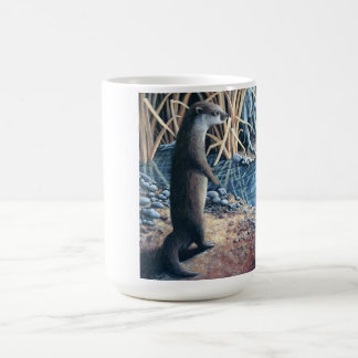 Otters at the Water's Edge Coffee Mug