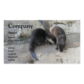 Otters Business Card
