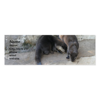 Otters Business Cards