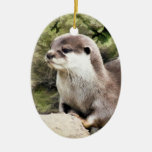 OTTERS CHRISTMAS TREE ORNAMENTS