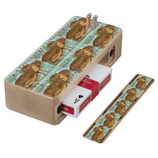 OTTERS CRIBBAGE BOARD