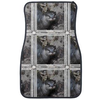Otters Floor Mat