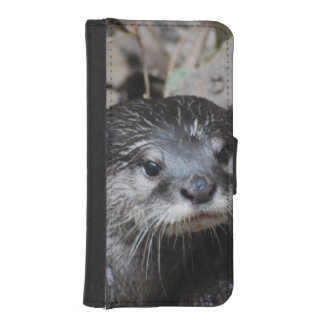 Otters iPhone 5 Wallet Case