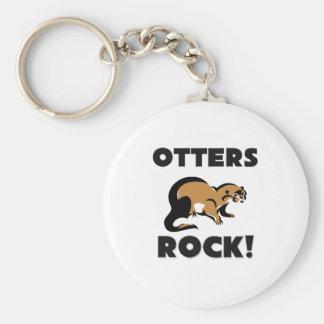 Otters Rock Keychain