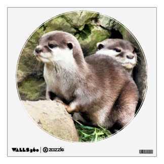 OTTERS WALL DECAL