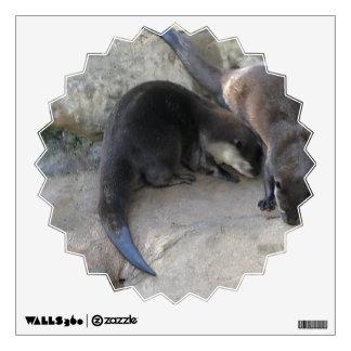 Otters Wall Sticker