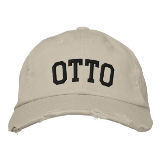 Otto Embroidered Hat
