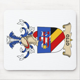 Otto Family Crest Mouse Pad
