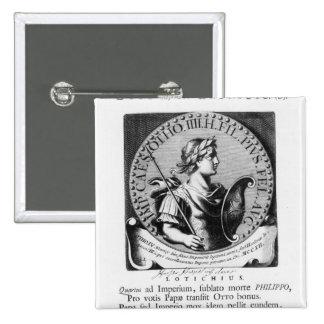 Otto IV  of Brunswick Pinback Button
