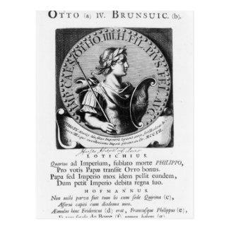 Otto IV  of Brunswick Postcard
