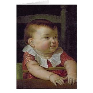 Otto Sigismund  Son of the Artist, 1805 Card