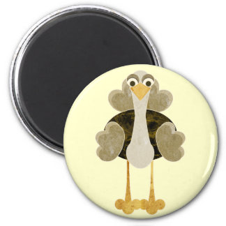 Otto the Ostrich Magnet